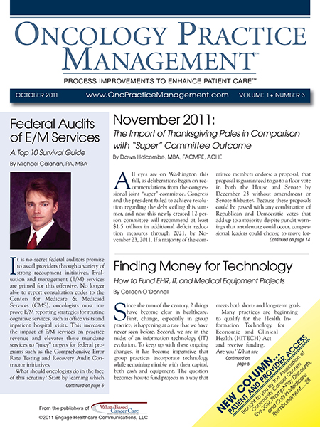 October 2011, Vol 1, No 3